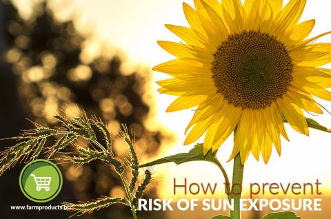 How to prevent risk of sun exposure
